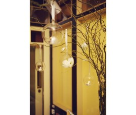 Hanging tealight  candle baubles