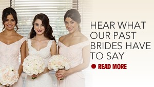 Hear What Our Past Brides Have To Say